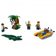 Lego city jungle explorers starter set della giungla 60157