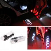 Set 2 Proiectoare Led Logo Dedicate Audi 7W