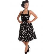 rochie femei IAD BUNNY - Băţ 50´s - Negru / alb - 4290
