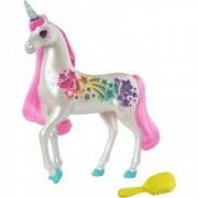Figurina Mattel Barbie Dreamtopia Unicorn stralucitor cu sunete si lumini