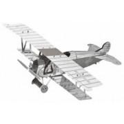Playtastic Maquette 3D en métal : Avion - 17 pièces