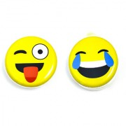 Pack Of Two Emoji Coin Pouches
