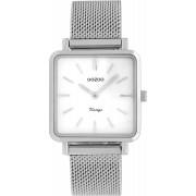 OOZOO Timepieces Horloge Vintage Zilver C9840