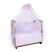 Ангелочки Комплект в кроватку Ангелочки Бабочки (7 предметов)