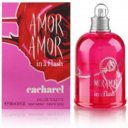 AMOR AMOR IN A FLASH By Cacharel Dama Eau De Toilette EDT 100ml