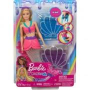 Papusa Barbie Draemtopia sirena slime GKT75 Mattel