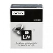 ORIGINAL DYMO Etichette S0904980 XL-Versand-Etiketten Etichette per spedizione, 104x159mm, bianco, 1x220 Pezzi.