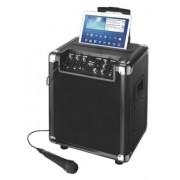 Boxa Portabil Trust Fiesta Pro, Bluetooth, 60 W, Microfon (Negru)
