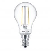 Philips LED Filament E14 2.7W Dimbaar
