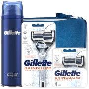 Gillette Skinguard Shaving Kit with Wash Bag