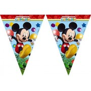 amscan Playful Mickey Pennant Banner Party Accessory by Disney