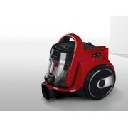 Aspirator fara sac Bosch BGC05A322, 700 W, Filtru Hepa 10+Hepa 12, Tub metalic telescopic, Perie pentru suprafete dure, Rosu/Negru