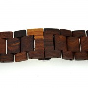 Apple Bamboo Watch Band - Red Sandalwood