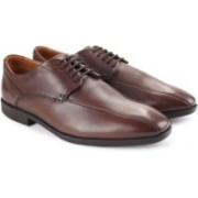 Clarks Glenrise Over Men Genuine Leather Lace Up shoes For Men(Brown)
