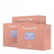 TummyTox Flat Tummy caps - supresor del apetito. 1+2 GRATIS. Programa para 3 meses.