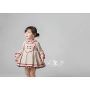 Vestido infantil corte condesita de Loan Bor