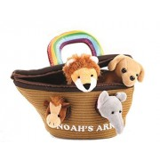 Animal House Noah'S Ark Plush Animals Sound Toys With Carrier | Toy Baby Toddler