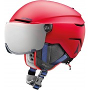 Atomic Savor Visor Junior Ski Helmet Red XS 19/20