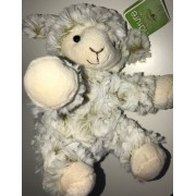 Doudou Mouton Agneau Beige Marron Blanc Famosa Softies Nature Collection Peluche Jouet Éveil Bébé Soft Toys Baby Plush Sheep Comforter