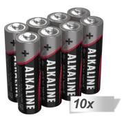 10x8 Ansmann Alkaline Mignon AA LR 6-red-line