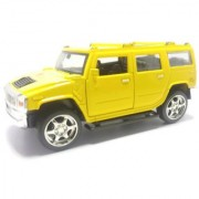 Tingoking Scale Model Modified Hummer Push Back Die-Cast Cars Toys For Kids Friction Cars Die-Cast Cars Toys (Color May Vary)
