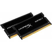 Memorii Laptop Kingston HyperX Impact Black SO-DIMM DDR3L, 2x8GB, 1866MHz, 1.35V, (CL11)