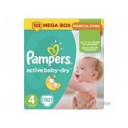 Pampers Active Baby-Dry pelene, veličina: 4 (Maxi), 132 kom