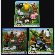 FISHER-PRICE - LITTLE PEOPLE - ZOO AND FARM ANIMAL FRIENDS - 27-PACK BUNDLE GIFT SET