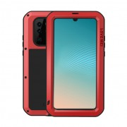 LOVE MEI Shockproof Dropproof Dustproof Case for Huawei P30 Pro - Red