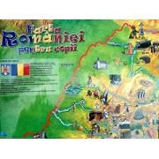 Harta Romaniei pentru copii/***