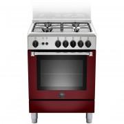 La Germania Amn604gevsvie Cucina 60x60 4 Fuochi A Gas Forno Gas Ventilato Con Gr