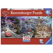 Puzzle Cars Panoramic 200 Piese