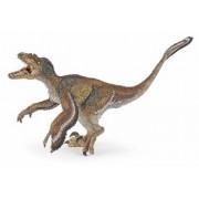 Figurina Papo - Dinozaur Velociraptor cu pene