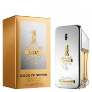 Paco Rabanne 1million Lucky Eau De Toilette Spray Una Fragranza Inpertinete 50 Ml