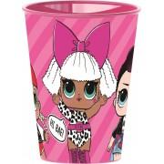 LOL Surprise műanyag pohár rózsaszín
