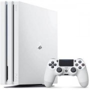 Конзола Playstation 4 PRO, 4K, 1ТВ, Sony PS4 Pro - бял ( white )
