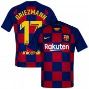 Nike Barcelona Authentic Vapor Match Shirt Thuis 2019-2020 + Griezmann 17 - M