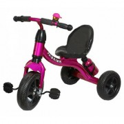 OH BABY kid metal tricycle COLOR PINK with sipper SE-TC-61