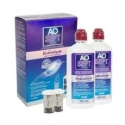 AOSEPT PLUS with Hydraglyde 2 x 360 ml with cases