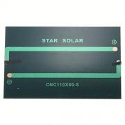 AST Works 1.25W 5V 250MA Black Solar Panel F2O6
