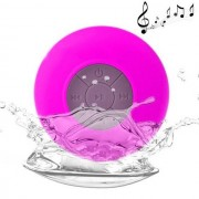 Maxy Vivavoce Waterproof Speaker Cassa Bluetooth Universale Bts-06 Pink Per Modelli A Marchio Htc