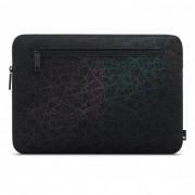 Incase Compact Sleeve in Reflective Mesh - качествен калъф за MacBook Pro Touch Bar 15 и лаптопи до 15.4 инча (черен)