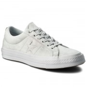 Гуменки CONVERSE - One Star Ox 159710C Pure Platinum/Pure Platinum