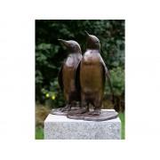 Statuie de bronz moderna Two penguins