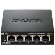 D-LINK DGS-105 - Switch, 5-Port, Gigabit Ethernet