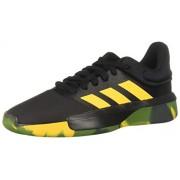 Adidas Pro Adversary Low 2019 Zapatillas de Baloncesto para Hombre, Color Core Black/Active Gold/Legend Earth, 9.5