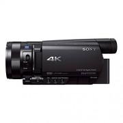 Sony fdr-ax100-ax100e 4 K Ultra-HD-Camcorder (8,9 cm (3,5 inch) Display, 24P/25p//50i Full-HD-opnamen (4 K in 24P/25p), ingebouwde nd-Filter) Zwart