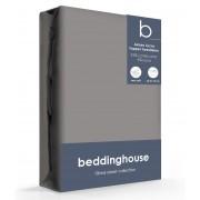 Beddinghouse Jersey-Lycra Topper Hoeslaken Warm Grey-70/80 x 200/220 cm