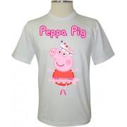 Camiseta Peppa Pig Bailarina - Coleção Peppa Pig
