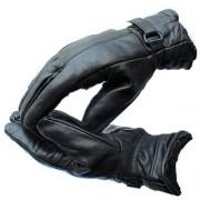 Bike - Winter Gloves Leather Black Set of 1